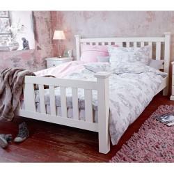 Łóżko Shabby Chic