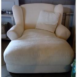 Duży wygodny fotel