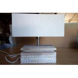 Lampa Lampka ręcznie rzeźbiona
