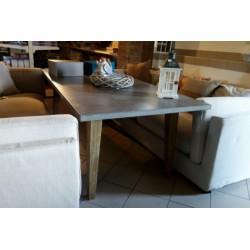 Stół blat imitacja szarego kamienia