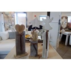 Dekoracje świąteczne drewniane