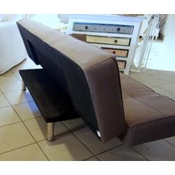 Nowoczesna sofa, rozkładana na wiele sposobów