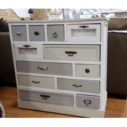 Praktyczna komoda z 12 szufladami