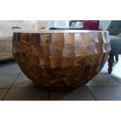 Stolik z drewna tekowego